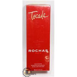 ROCHAS PARIS TOCADE 3.3FLOZ 100ML EAU DE TOILETTE.