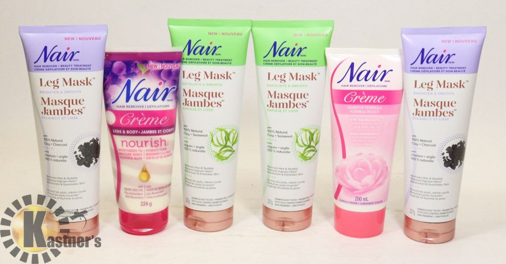 Lot Of Nair Leg Mask Product