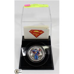 2013 ROYAL CANADIAN MINT $15 SUPERMAN COIN