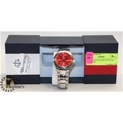 TOMMY HILFIGER MEN'S WATCH, STAINLESS