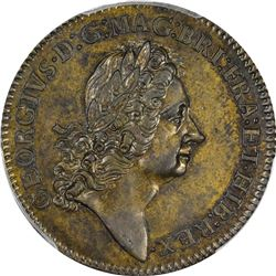 Undated (1722) Rosa Americana Twopence. With Ribbon. Martin 2-B, Breen-88, W-1322. MS-62 PCGS.