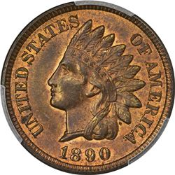 Choice RB Mint State Indian Cent Duo