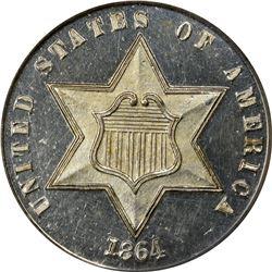 1864 Proof-64 PCGS.
