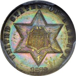 1872 Proof-64 PCGS.