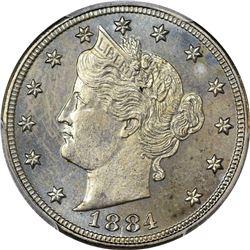 1884 Proof-65 PCGS