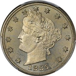 1885 Proof-65 PCGS