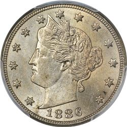 1886 MS-62 PCGS