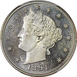 1891 Proof-64 PCGS