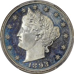 1893 Proof-65 CAM PCGS