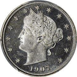 1907 Proof-65 PCGS