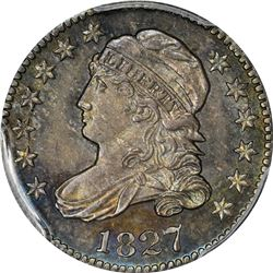 1827 JR-3. Rarity-1. MS-65 PCGS.