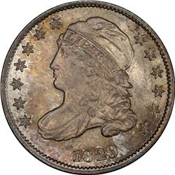 1829 Large 10¢. JR-2. Rarity-2. MS-67 PCGS. CAC.