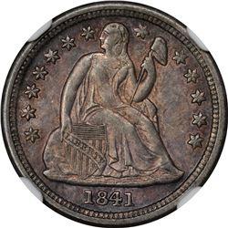1841-O Medium O. MS-64 NGC.
