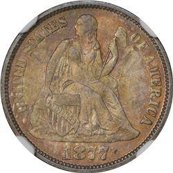 1877 MS-66 NGC.
