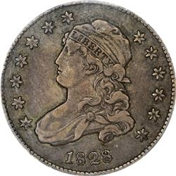 1828 B-1. Rarity-1. VF-30 PCGS.