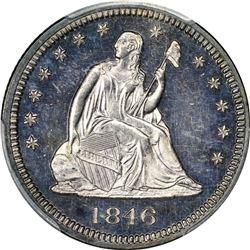 1846 Proof-62 PCGS.