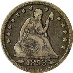 PCGS-Certified Eclectic Quarter and Half Dollar Quartet.