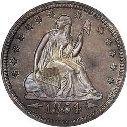 1854 Arrows. Proof-65 PCGS. OGH. CAC.