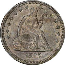 1875-S MS-64 NGC.