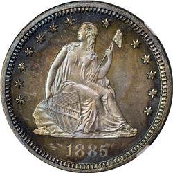 1885 Proof-67 NGC.