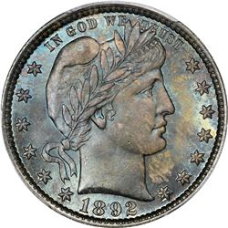 1892 Type II. MS-67 PCGS