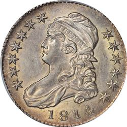1814 O-109. Rarity-2. Genuine – Cleaned – AU Details PCGS