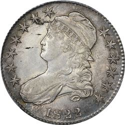 1822 O-113. Rarity-3. Genuine  – Tooled – AU Details PCGS