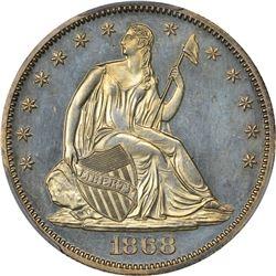 1868 Proof-63 PCGS
