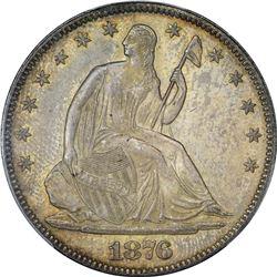 1876 WB-103. MPD. MS-62 PCGS.