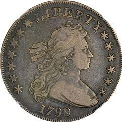 1799 Pointed 9s. B-14, BB-167. Rarity-3. VF-20 NGC.