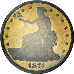 1874 Proof-64 PCGS