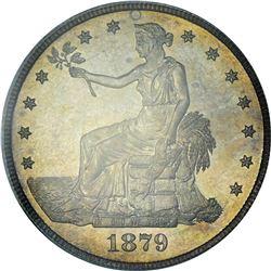 1879 Trade Dollar. Proof-64 PCGS