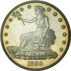 1880 Trade Dollar. Proof-62 PCGS