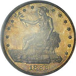 1882 Trade Dollar. Proof-63 PCGS