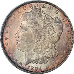 1894 AU-58 PCGS