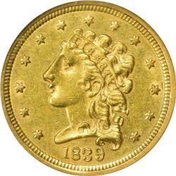 1839 AU-58 NGC.