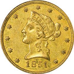 1851 AU-50 NGC.