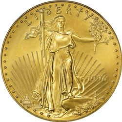 1996 American Eagle Gold $50. One Ounce. MS-69 NGC.