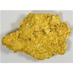 Hefty Gold Nugget. Found Round Mountain Mine, Nevada. 90.0 Grams.