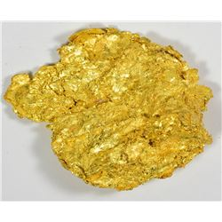Bright Gold Nugget. A third specimen from Round Mountain Mine. 65.5 Grams.