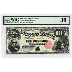Fr. 112. 1880 $10 Legal Tender. PMG Very Fine 30.