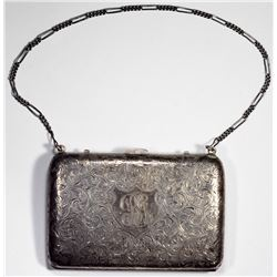 19th Century Ladies Sterling Silver Fractional Purse