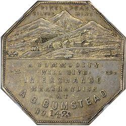 Colorado. Victor. 1900 A.B. Bumstead. Jos. Lesher's Referendum Souvenir Medal or Dollar. Zerbe-2, HK