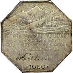 Colorado. Canon City-Florence. 1901 Engraved Type. H. Stein. Jos. Lesher's Referendum Silver Souveni