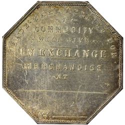 "Colorado. Victor. 1900 ""Trade-Mark Applied For"" Type. Jos. Lesher's Referendum Souvenir Medal or Dol"