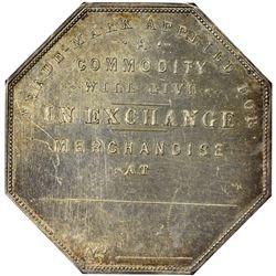 "Colorado. Victor. 1900 ""Trade-Mark Applied For"" Type. Jos. Lesher's Referendum Souvenir Medal or Dol"