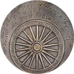 Bryan Money. 1896 Gorham Mfg. Co. Dollar. Schornstein-6, HK-780. AU Details – Scratches – NGC.
