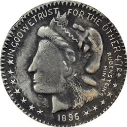 Amazing Mixed Lot of William Jennings Bryan-Related Items, including: