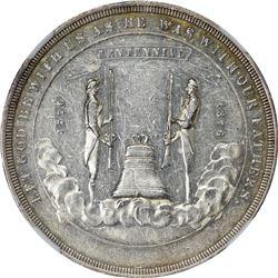 So-Called Dollar. 1876 HK-19. Nevada. U.S. Centennial Exposition. Silver. Plain Edge. MS-61 NGC.
