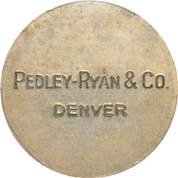 So-Called Dollar. Pedley-Ryan & Co. Type I. HK-822. Silver. Plain Edge. MS-63 PCGS.